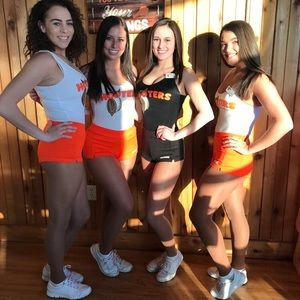 Hooters uniforms!!🧡